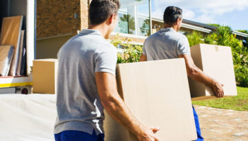 Should you feed professional movers in San Diego?