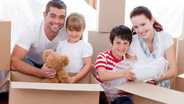 Helping your children acclimate to a new home at San Diego