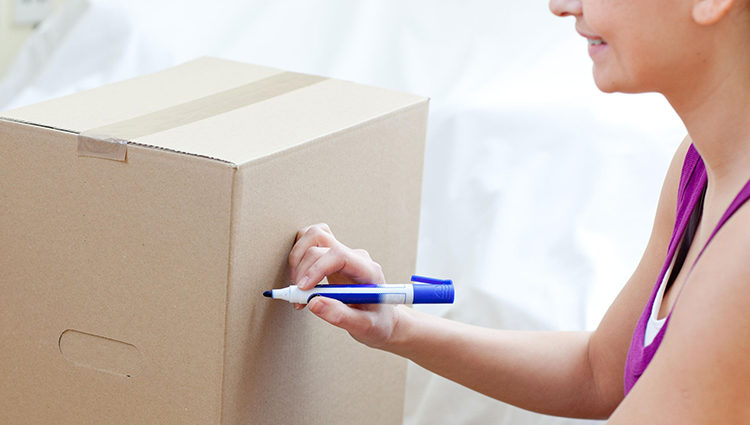 Use Healthy Markers to Label Moving Boxes