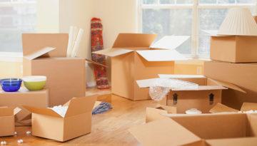 Moving Tips: Avoiding the New House Temporary Mess