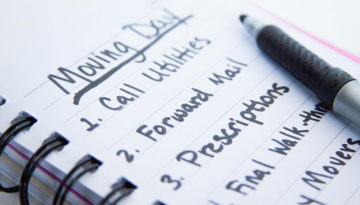 A Moving Checklist Will Make Your Move Simple